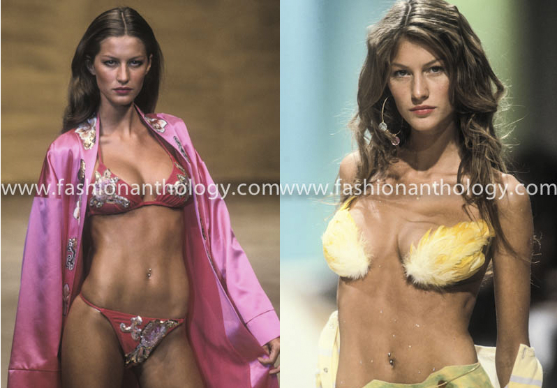 Gisele Bundchen, the image of the super model.