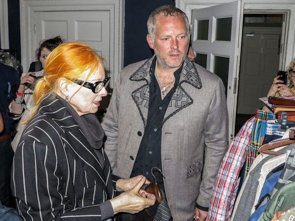 Vivienne Westwood and Joe Corre at the A Child of the Jago fashion presentation, in London, june 2012. Photo Yannis Vlamos