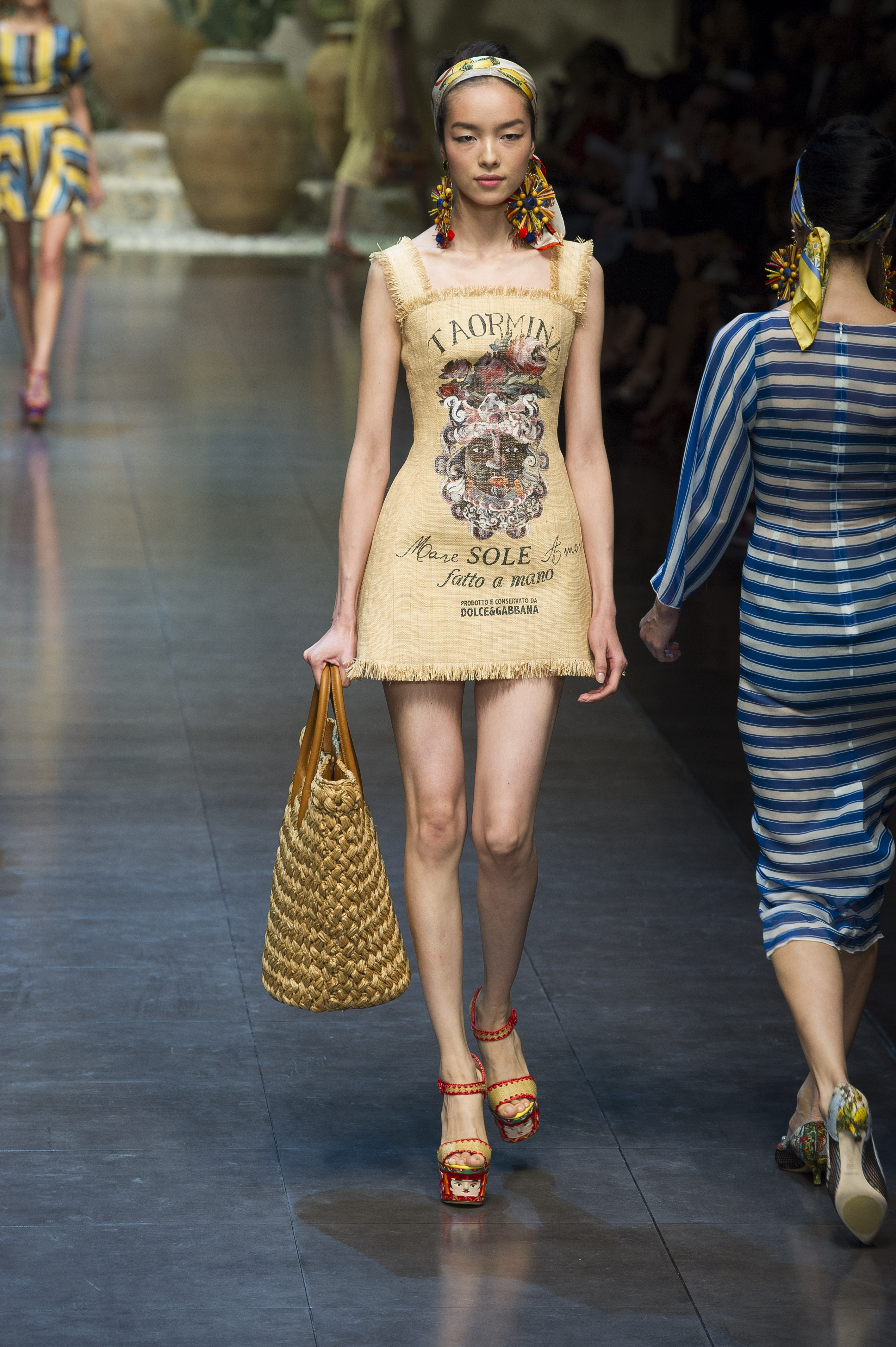 Dolce & Gabbana Womenswear Summer 2013 Ready To Wear Milano
