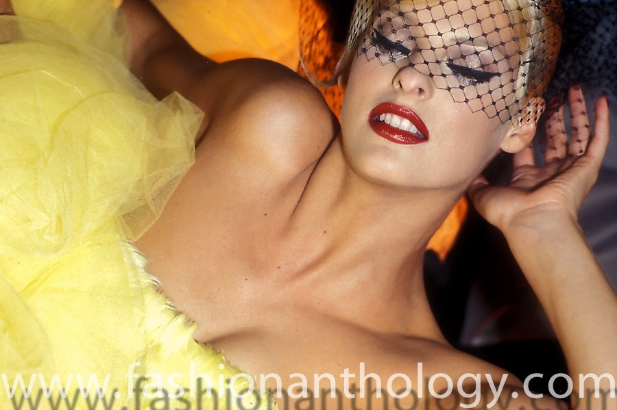 Linda Evangelista Galliano summer 1995