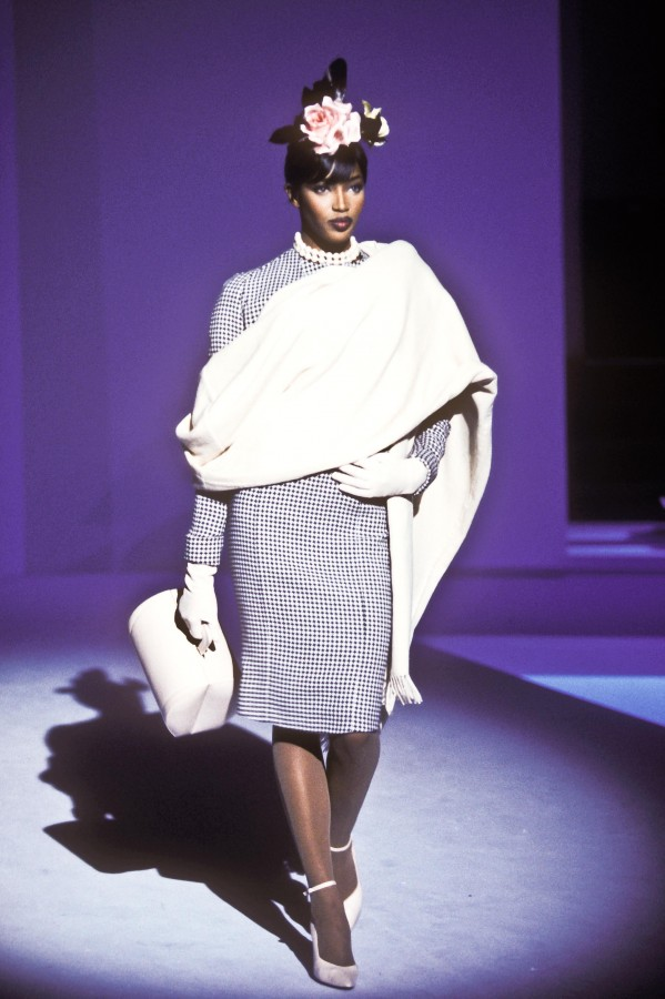 Thierry Mugler Winter 1995 / Naomi Campbell